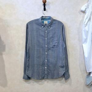 BEAUTY & YOUTH by ユナイテッドアローズ  LS ダブルフェイスBDシャツ Gray size M