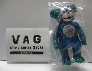 ☆198 VAG SERIES13 THE IT BEAR 青 ブルー 【メディコム トイ ガチャ ソフビ フィギュア】