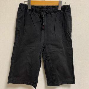 【人気】GRAMICCI グラミチ 3/4パンツ ブラック 黒 アウトドア キャンプ クライミング