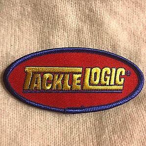 ワッペン TACKLE LOGIC 刺繍ワッペン タックルロジック アイロンワッペン