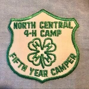 ワッペン 刺繍ワッペン アメカジ キャンプ アメリカ クローバー ヴィンテージ