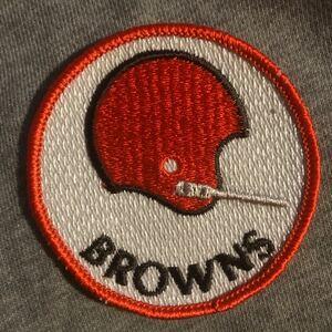ワッペン 刺繍ワッペン BROWNS クリーブランドブラウンズ アメカジ 刺繍