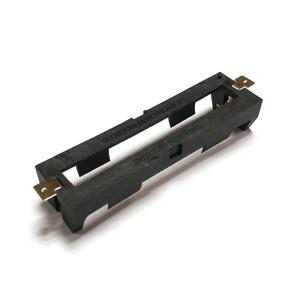 18650 リチウムイオン電池 1本用バッテリーホルダー 真鍮ピン付き高品質 半田付けタイプ 即納可能