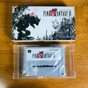 ファイナルファンタジー6 スーパーファミコンソフト SFC