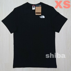 THE NORTH FACE ノースフェイス tシャツ 半袖 トップス 人気 黒 ブラック シンプルドーム simple 海外XS
