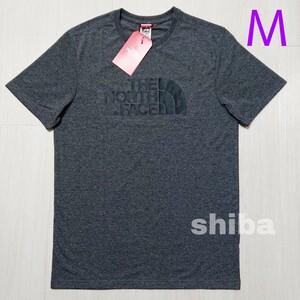 THE NORTH FACE ノースフェイス tシャツ 半袖 トップス 灰色 グレー 海外限定 イージー Easy 海外Mサイズ