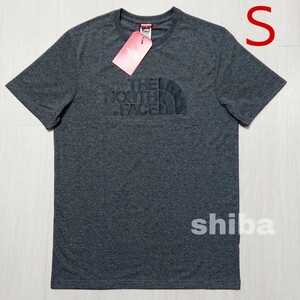 THE NORTH FACE ノースフェイス tシャツ 半袖 トップス 灰色 グレー 海外限定 イージー Easy 海外Sサイズ