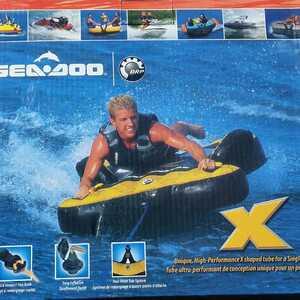 トーイング チューブ マット SeaDoo マリンスポーツ アウトドア 水上バイク ジェットスキー ボート