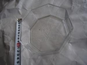 新品未使用品 サントリーウィスキー SUNTORY ガラス皿 硝子プレート昭和レトロ 希少品 アンティーク