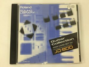 N019 Roland SOUND LIBRARY Guiter Collection ROM CARD SET JD-800 SL-JD80-07 630