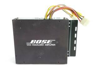 ボーズ BOSE 1203 EQUALIZED AMPLIFIER イコライザーアンプ /SR12