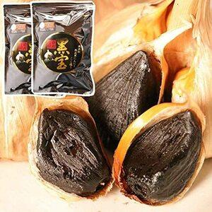 青森県産 無添加 熟成黒にんにく 熟成 黒にんにく 黒ニンニク にんにく ニンニク 大蒜 フルーティー 発酵食品 大容量1キロ チャック付き