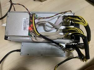 マイニング用 Antminer L3+ 504M 電源APW7のセット