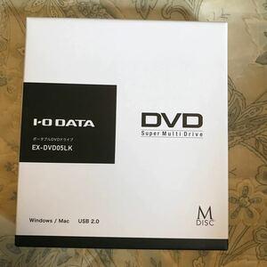 I-O DATA ポータブルDVDドライブ USB2.0 USB3.0PCも可