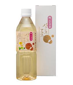 梅たもぎ茸バランスアルファ 500ml 自然農法産米ぬか 梅 たもぎ茸 ビワ葉 ビワ種