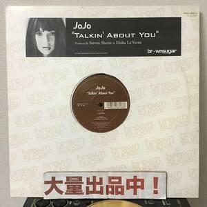 UKオンリー盤【JoJo】『Talkin' About You』Elisha La'Verne プロデュース 日本人好みなUK R&B! Brown Sugar Records