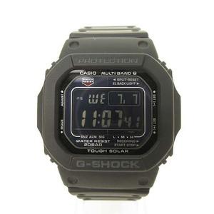 カシオジーショック CASIO G-SHOCK GW-M5610 5600シリーズ 電波 タフソーラー デジタル 腕時計 ブラック