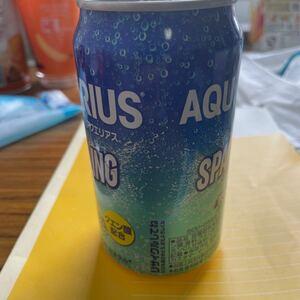 アクエリアスの缶