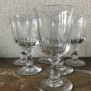 フランス アンティーク 日本酒グラス ワイングラス シャンパングラス グラス 骨董