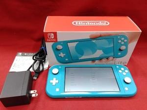 【初期化済み】Nintendo Switch Lite ターコイズ 【一部傷汚れあり】ニンテンドースイッチライト本体