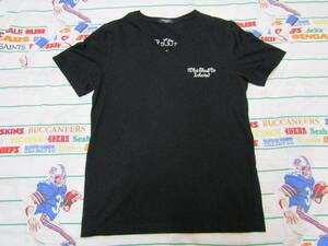 ボーリングシャツ風 VネックTシャツ