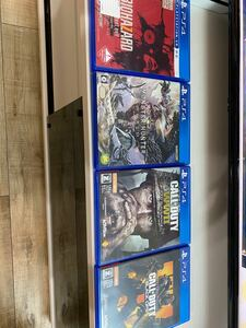 【バラ売り可 要相談】PS4 ソフト 4種セット コールオブデューティ2種 バイオハザード モンスターハンター