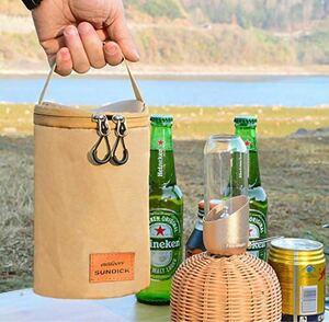 アウトドア キャンプ ガス缶 収納 CB OD缶 小物入れ ランタンケース コンロ アクセサリー ガスカードリッジバッグスモール