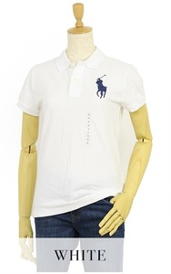 新品 アウトレット 3363 レディース XLサイズ 半袖 シャツ polo ralph lauren ポロ ラルフ ローレン ビッグポニー 鹿の子