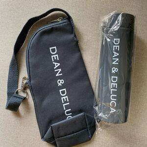 DEAN&DELUCA チャコールグレーボトルとケース