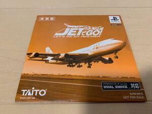 PS体験版ソフト ジェットでGO! 非売品 送料込み TAITO プレイステーション PlayStation DEMO DISC jet 電車でGOシリーズ Boeing SLPM80515