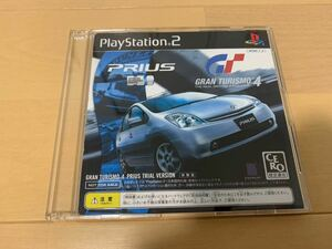PS2体験版ソフト グランツーリスモ4 プリウス トヨタ非売品 PRIUS TRIAL VERSION PlayStation Gran Turismo Concept DEMO DISK SONY TOYOTA