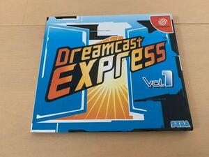 DC体験版ソフト SEGA OFFICIAL CLUB DREAMCAST EXPRESS 創刊号 SEGA DEMO DISC 非売品 セガ ファンディスク fan disk ドリームキャスト