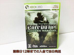 【1円】xBOX360 コール オブ デューティ4 モダン・ウォーフェア ゲームソフト 1Z006-537xx/G1