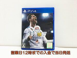 PS4 FIFA 18 状態良好 ゲームソフト 1Z017-709sy/G1