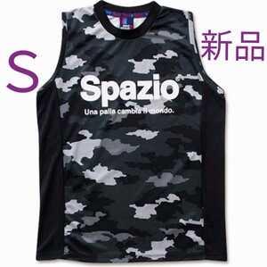 スパッツィオ ノースリーブシャツ タンクトップ S カモフラージュ柄 新品 未使用 紙タグ付き