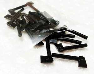 25個 斤 黒 未組立 未使用 LEGO レゴ レゴブロック 新品 武器 ミニフィグ 持ち物 アクセサリー