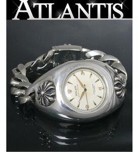銀座店 クロムハーツ ロレックス オールド CHX ウォッチケース クラシックチェーン セミバブルバック ヴィンテージ 腕時計