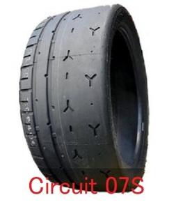 Zeknova Circuit 07S TW60 265/35R18 265/35/18 1本 4本以上送料無料 ゼクノーバー ゼクノバ タイムアタック ドリフト