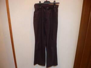 黒パンツ スラックス ウエスト実寸約72cm 中古