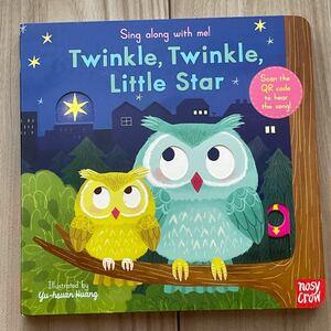 仕掛け絵本 英語絵本 音声付き twinkle little star