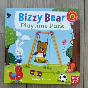 新品英語絵本 仕掛け絵本 Playtime park