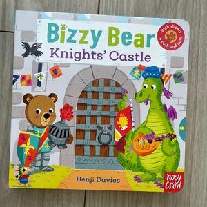 新品英語絵本 仕掛け絵本 音声付き knight's castle