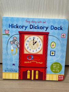 仕掛け絵本 新品英語絵本 hickory Dickory dock