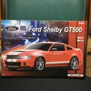 ラジオコントロール ラジコン カー FORD Sherby GT500 カラー:レッド