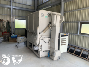【引き取り限定】NCD-9SXV 山本 穀物乾燥機 ニューサイクル 9石 熱風式 スロワー 三相200V 京都府