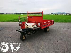 TG162 ヤンマー 3輪 運搬車 小型 ガソリンエンジン GA160SCK 最大5.8馬力 4速MT 最大積載500kg 後輪ダブルタイヤ 中古 滋賀県