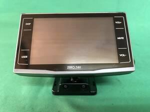 MG157 中古 コムテック COMTEC GPSレーダー探知機 ZERO 74V 5color LED搭載 OBDⅡ接続対応 薄型ワンボディ 3.2インチ 動作保証