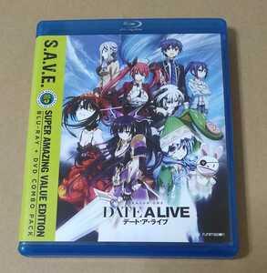 BD+DVD デート・ア・ライブ DATE A LIVE 第1期 全13話 北米版 ブルーレイ デートアライブ blu-ray