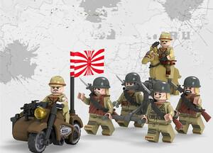 レゴ互換 帝国陸軍6体セット
