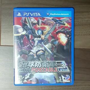 地球防衛軍3 ポータブル Vita!数の暴力に立ち向かうアクションゲーム!